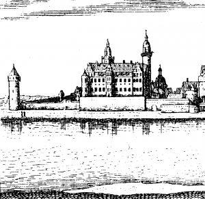 Das kurfürstliche Schloss zu Höchst nach Merian.