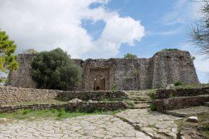 Fort Trikófo, Eingangsseite