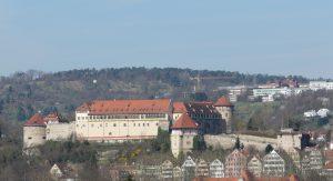 Schloss Hohentübingen, Landesfestung der Herzöge von Württemberg / Hohentübingen Castle, fortress of the dukes of Württemberg