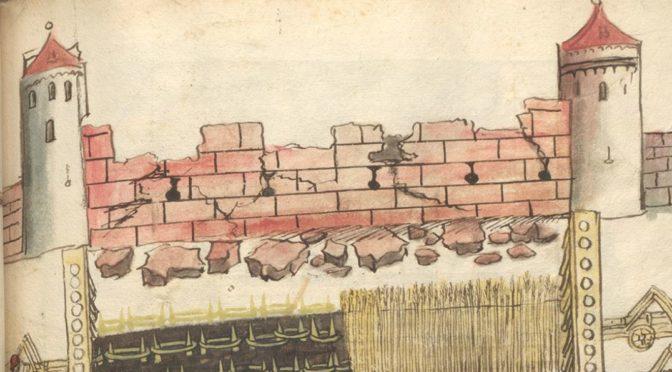 Transkriptionen unplugged # 3 – Namen und Vorgänge zur Baugeschichte der Burg Burghausen 1503 – 1505
